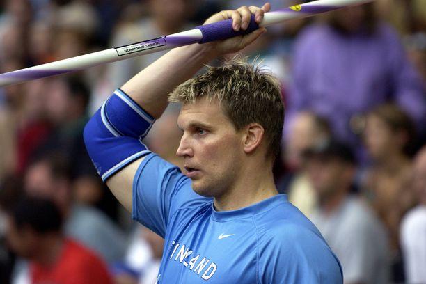 Aki Parviainen on keihäänheiton maailmanmestari vuodelta 1999.