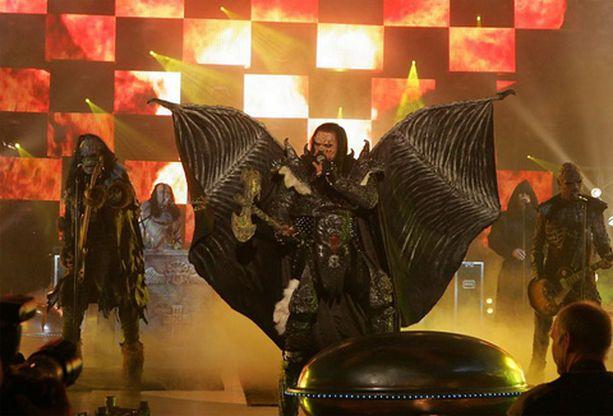 Lordin koko shown näkee Suomessa seuraavan kerran Euroviisujen loppukilpailun yhteydessä.