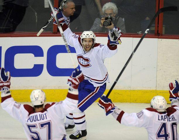 Montreal Canadiens tuuletti voittoaan.