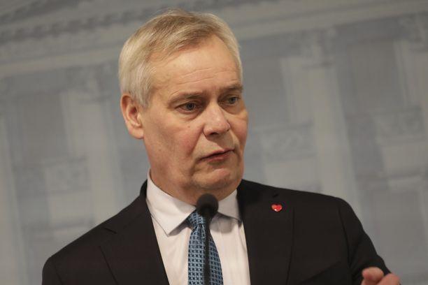 SDP:n Antti Rinteestä tuli pätkäpääministeri.