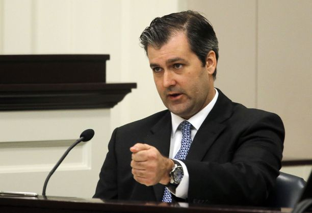 Michael Slager sai kertoa oman versionsa tapahtumista tiistaina oikeudessa.