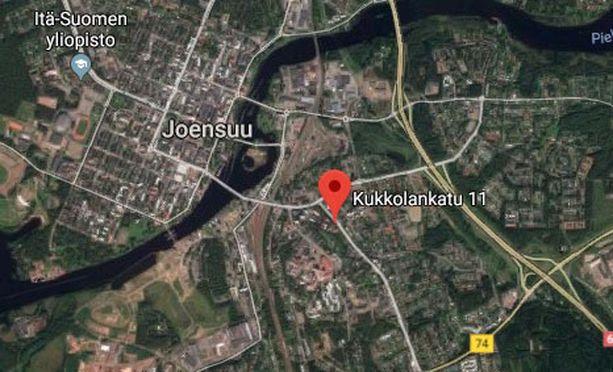 Joensuun Niinivaaran kaupunginosa sijaitsee noin 1-2 kilometrin päässä keskustasta.