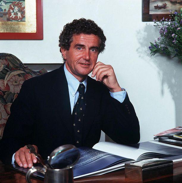Kuvassa Carlo Benetton vuonna 1993.