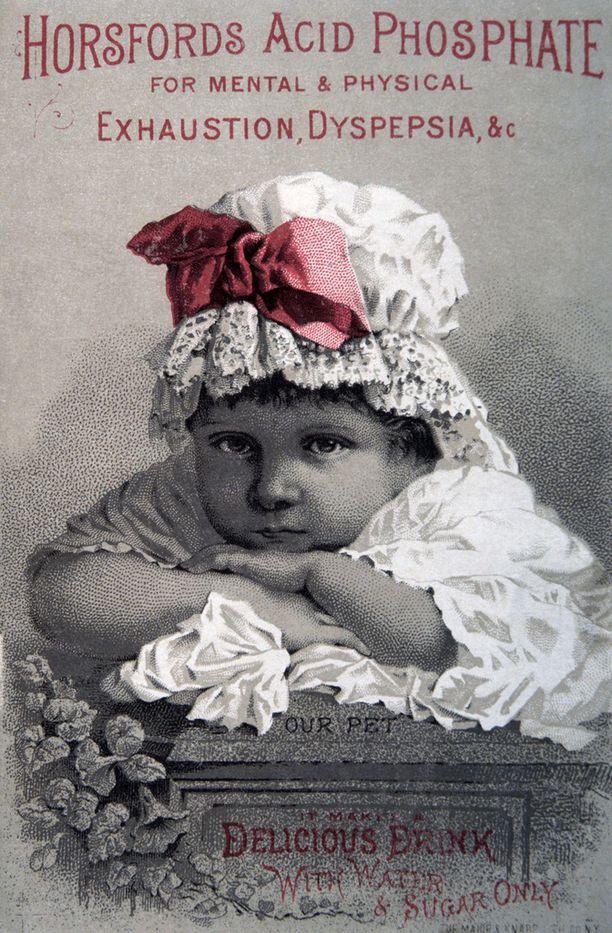 Mielialalääkemainontaa vuodelta 1900.