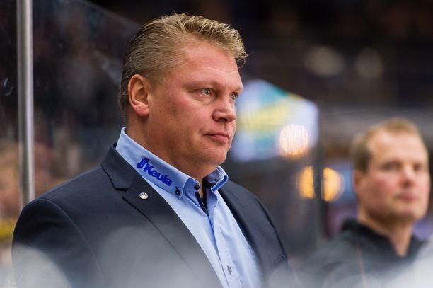 Pekka Virta oli totisena Tampereella keskiviikkoiltana.