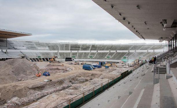 Olympiastadionin peruskorjaus ei ole pysynyt budjetissa.