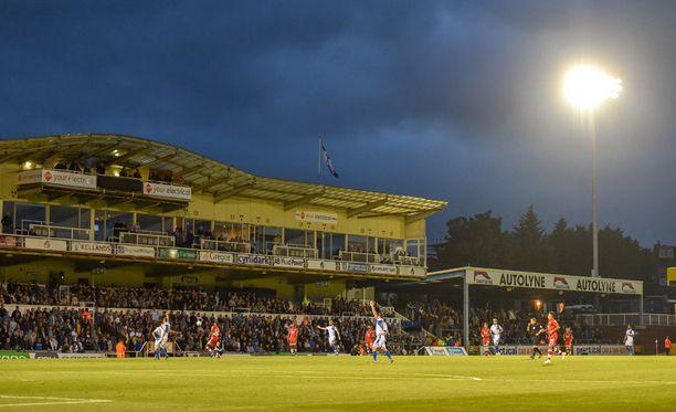 Bristol Rovers voitti tiistaina liigacupin ottelussa Crawley Townin 2-1.