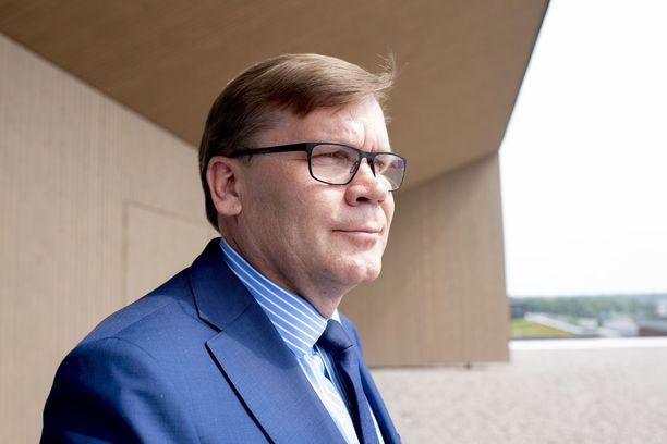 Iltalehti haastatteli Keskon pääjohtajaa Mikko Helanderia K-kampuksella Helsingin Kalasatamassa 16.6.2020.