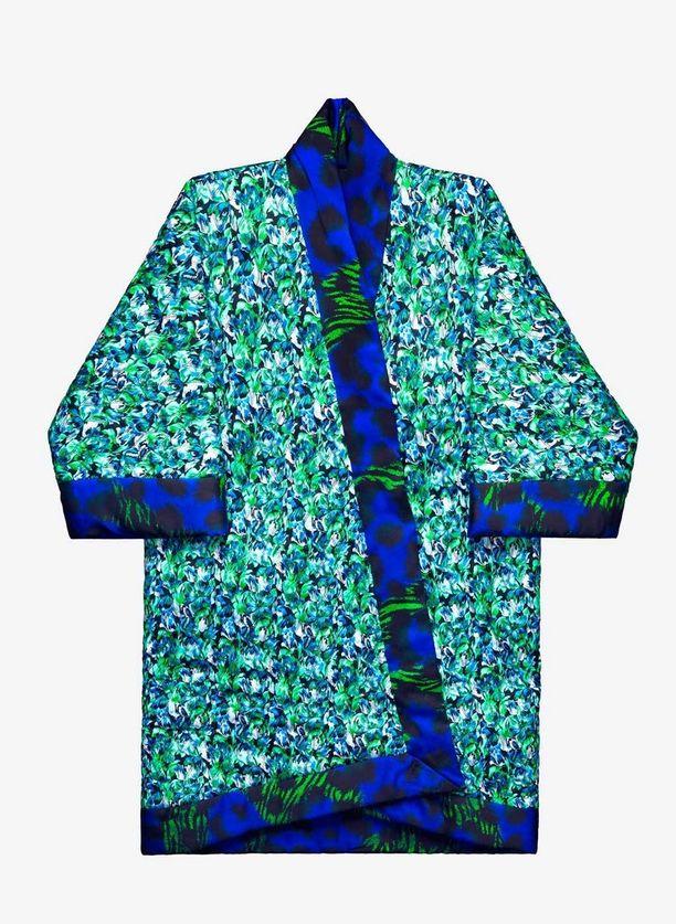 Kimono-jakun voi myös kääntää ympäri, 249 e