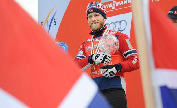 Martin Johnsrud Sundby ei tyydy kilpailukieltoonsa.