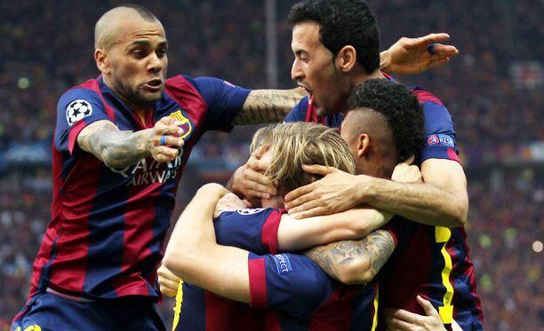 Barcelona voitti Mestarien liigan neljännen kerran yhdeksän vuoden sisään.