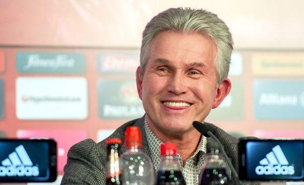 Jupp Heynckes palaa Bayern-ruoriin.