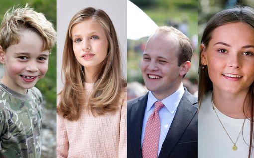 Nämä Euroopan nuoret kuninkaalliset nousevat tulevaisuudessa valtaan