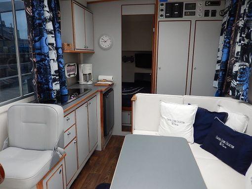 Tämä alus on tarkoitettu ainoastaan kesäkäyttöön. Seuraavasta asuntoveneestä Antero Miikkulainen kaavailee talviasuttavaa.