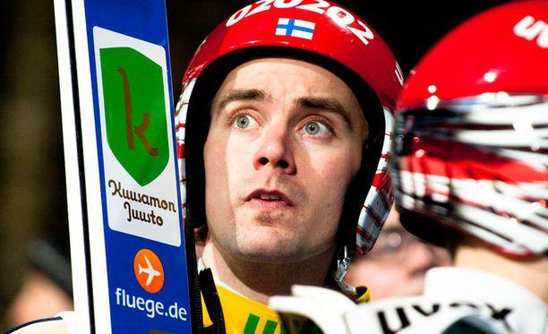 Anssi Koivuranta pääsi ainoana suomalaisena mc-pisteille.
