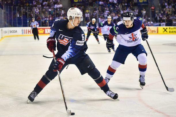 Jack Hughes keräsi Slovakian MM-kisoissa 0+3 tehopistettä ja istui välillä jopa katsomossa, kun ei mahtunut USA:n pelaavaan kokoonpanoon.