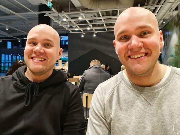 Bill ja Ben Kåla ovat kaksosia ja onnellisia siitä.