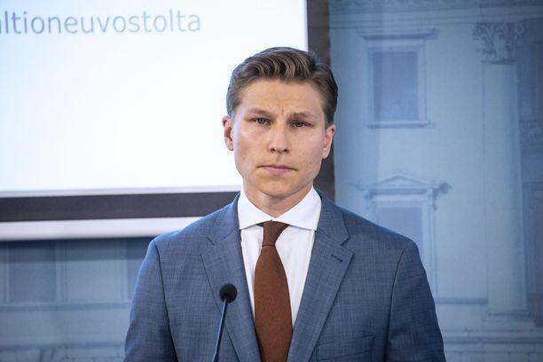Antti Häkkänen toimi viime kaudella Juha Sipilän hallituksen oikeusministerinä.