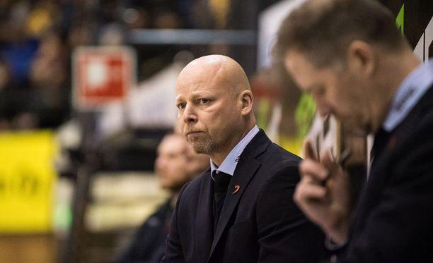Marko Virtanen päivitteli KalPan pikaista avausmaalia.