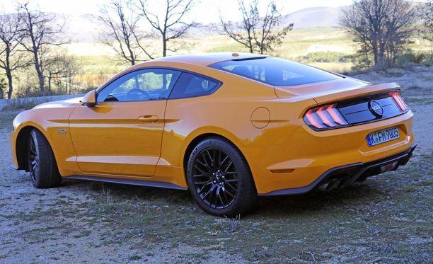 Orange Fury on Mustangin uusi väri.