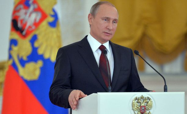 Venäjän presidentti Vladimir Putin puhuu tänään Venäjän kansalle.