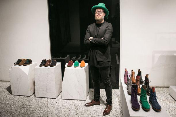 Janne Laxin kenkämerkki Saint Vacant on kiteyttänyt koko mallistonsa viiteen klassikkomalliin.