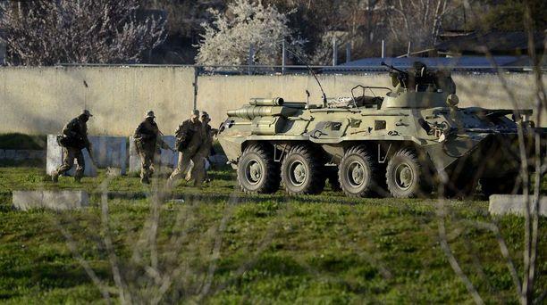 Venäjä miehitti Krimin niemimaan helmi-maaliskuussa 2014.
