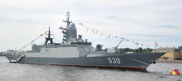 Tänä vuonna Venäjän laivasto vahvistuu vielä muun muassa Steregutsi-luokan korvetilla ja Kilo-luokan sukellusveneellä.
