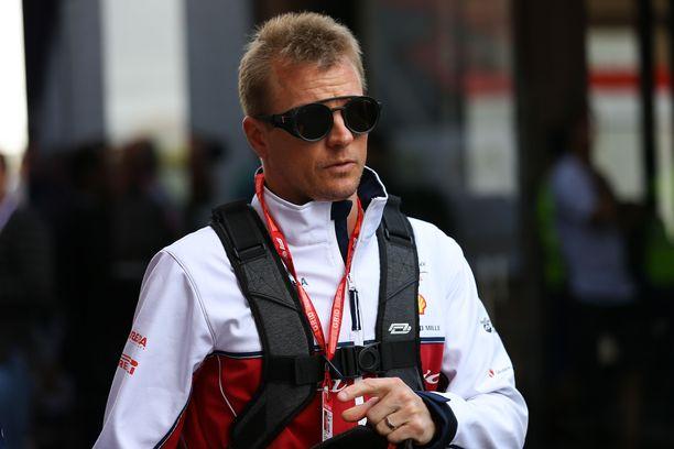 Kimi Räikkönen on saalistanut tällä kaudella kaksi MM-pistettä.
