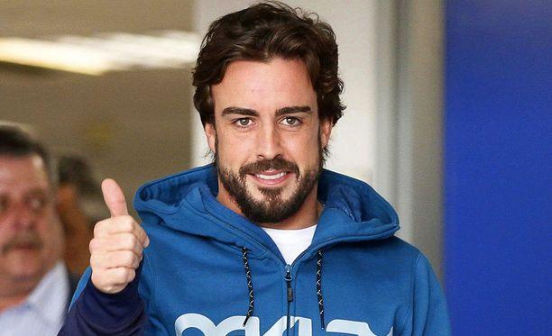 Fernando Alonso on palaamassa McLarenin rattiin.