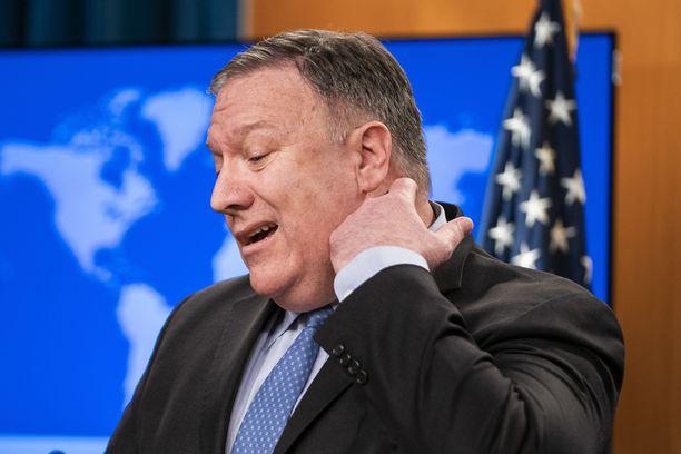 """USA:n ulkoministeri Mike Pompeo kirjoitti Wall Street Journalissa viikko sitten, että Saudi-Arabia on """"vahva vakauttava voima"""" Lähi-idässä."""