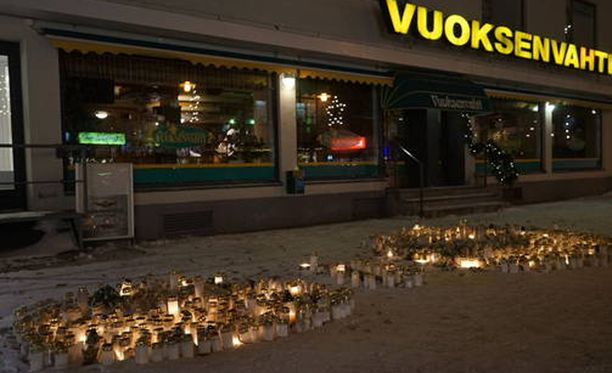 Kolme naista kuoli ampumisessa ravintola Vuoksenvahdin edustalla Imatran kävelykadulla 3. joulukuuta 2016.