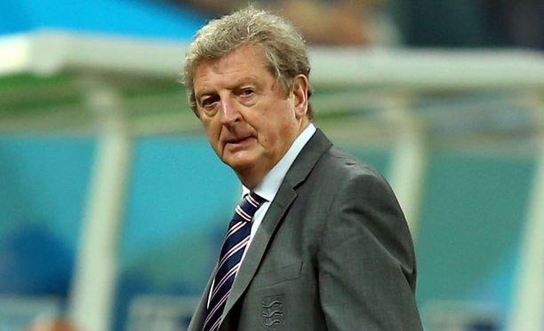 Roy Hodgson ei aio luopua Englannin päävalmentajan paikasta.
