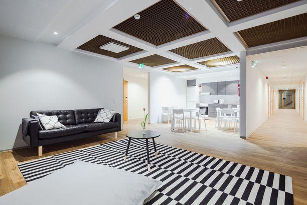 Hostelin tarjonnassa on myös yksi kalustettu asunto.