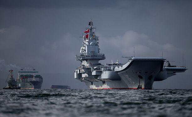 Kiina harjoittelee Venäjän kanssa Itämerellä noin viikon ajan.