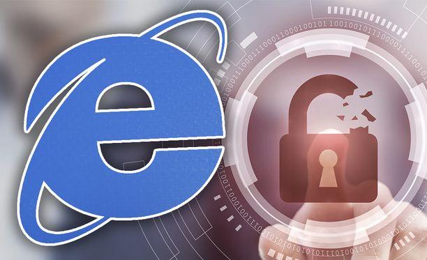 Internet Explorerin sijasta kannattaa käyttää jotain muuta selainta.