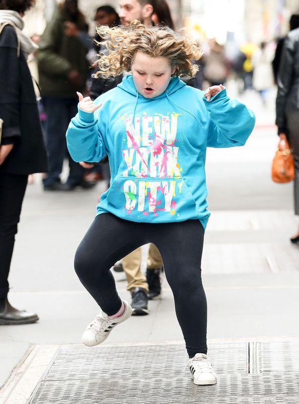 Honey Boo Boo New Yorkissa huhtikuussa 2017.