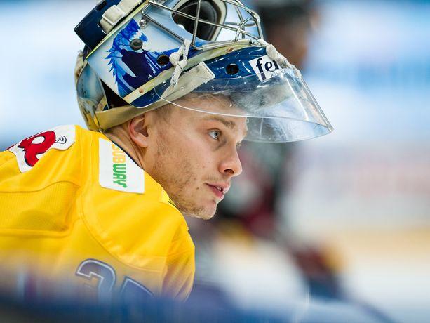 Jukurien maalivahti Juhana Aho oli vireessä keskiviikkona Tampereella, mutta hänkään ei auttanut mikkeliläisiä voittoon.
