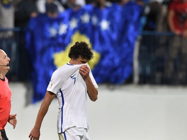 Roman Eremenko ei ole pelannut maajoukkueessa syyskuun 2016 jälkeen. Suomi jäi 1–1-tasapeliin Kosovoa vastaan Turussa.
