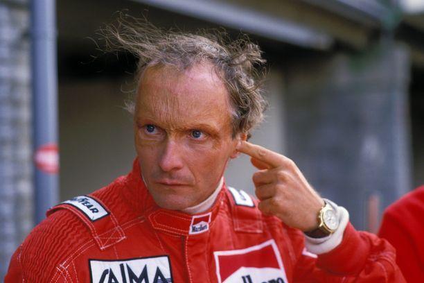 Niki Laudan viimeinen F1-kausi sujui vaikeissa merkeissä.