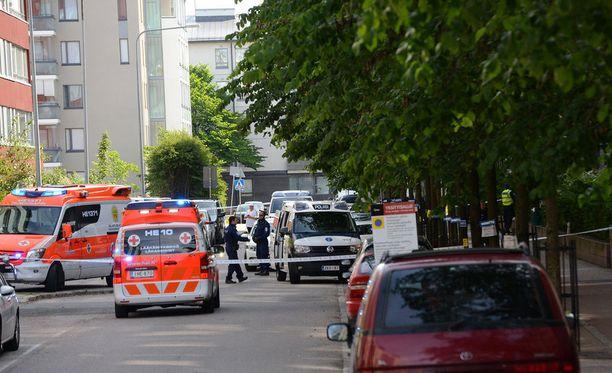 Lukija kuvasi tilanteen jälkimainingit Iltalehdelle 15. heinäkuuta Herttoniemessä.