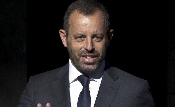 Sandro Rosell työskenteli FC Barcelonan seurapresidenttinä vuosina 2010-2014.