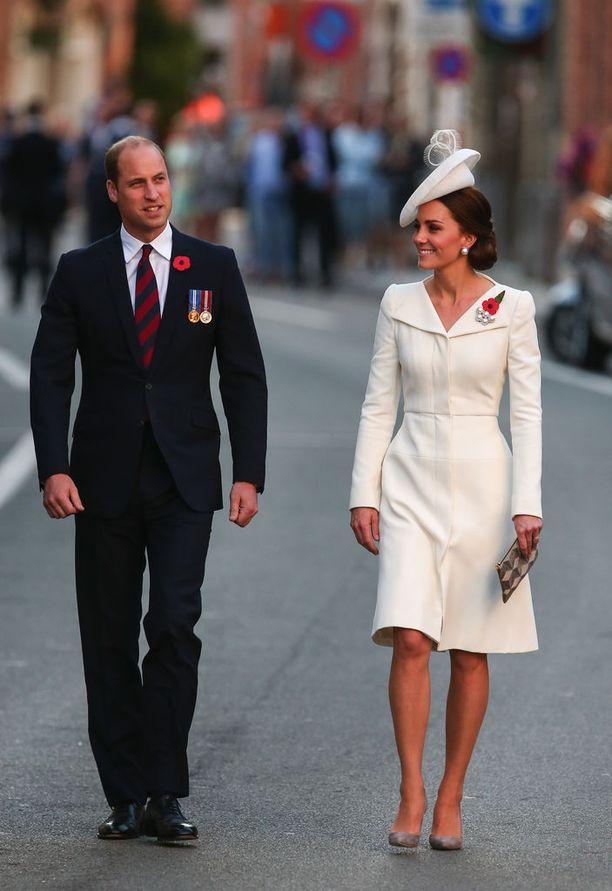 Prinssi William piti tilaisuudessa myös puheen.