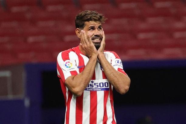 Diego Costa pelaa tätä nykyä Atletico Madridissa.