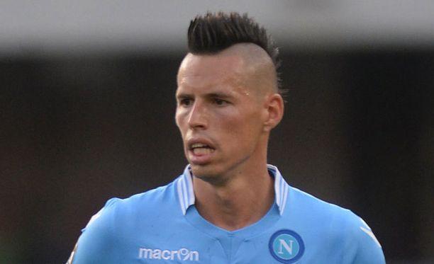 Marek Hamsik on Napolin supertähti.