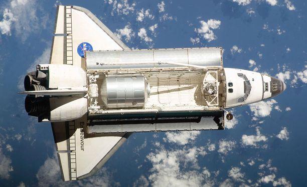 Kopra matkasi avaruuteen Endeavour-sukkulan lennolla.