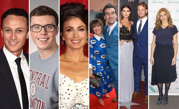 Osa näyttelijöistä on löytänyt myös rakkauden sarjan kautta.