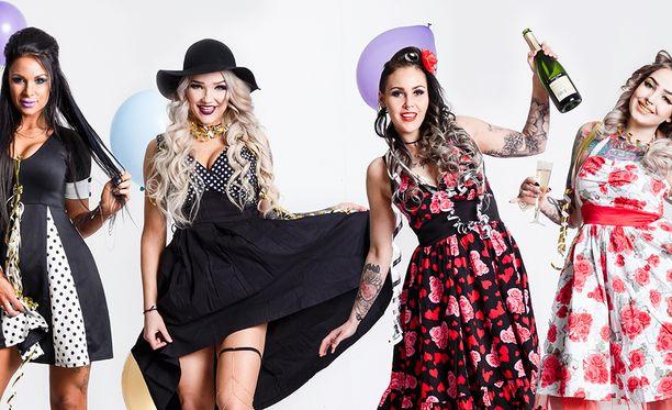 Miss Rock -finalisteja vaputti!