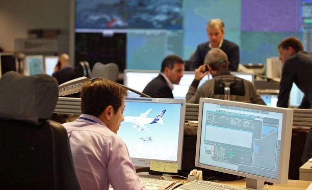 Eurocontrol varoittaa mahdollisista pommituksista.