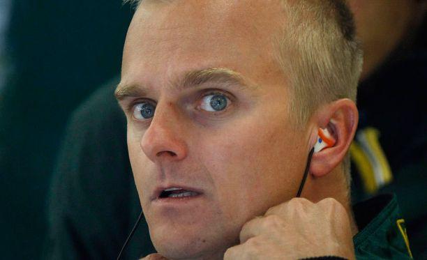 Heikki Kovalainen on kyllästynyt Caterhamin hitauteen.